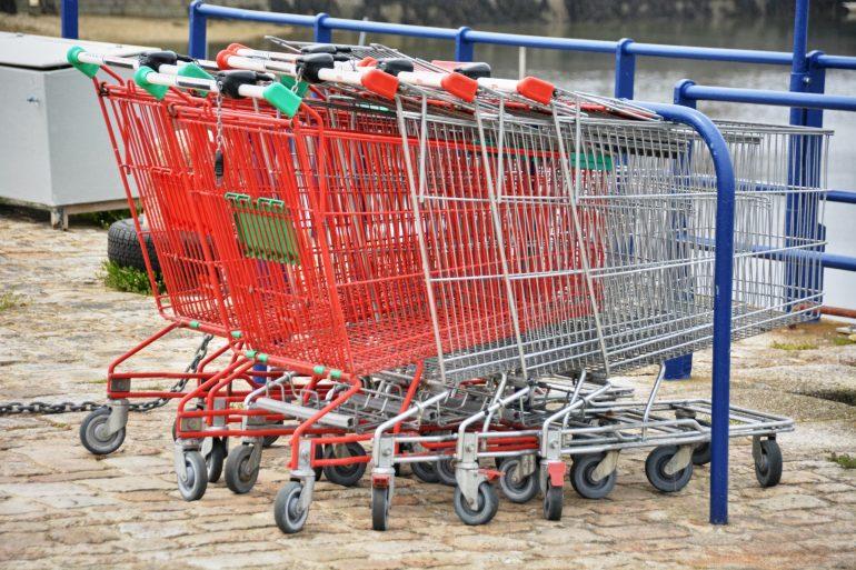 Cadis de supermarché