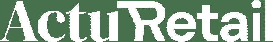 logo Actu Retail blanc