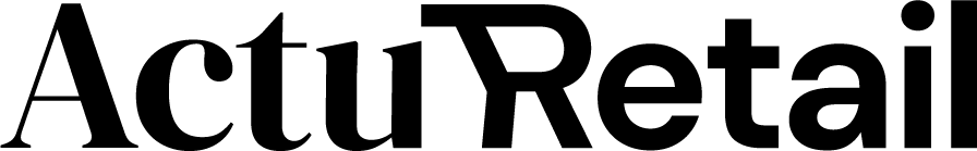 Logo noir Actu Retail grand