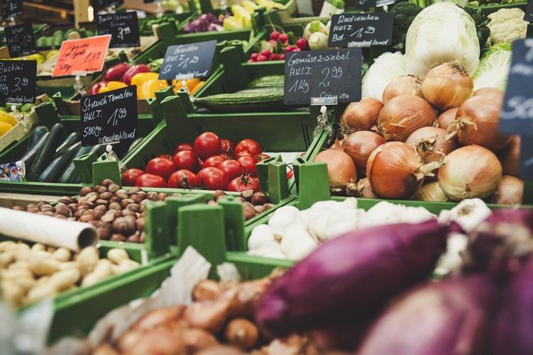 prix sur des légumes