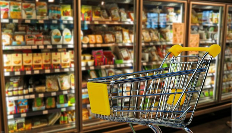 Caddie de supermarché