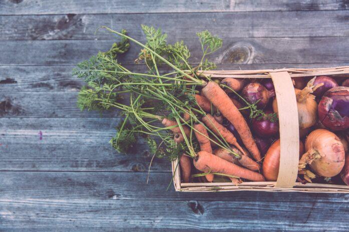 Panier de carottes