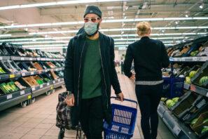 supermarché covid-19