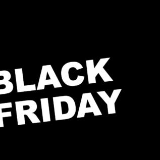 étiquette black friday