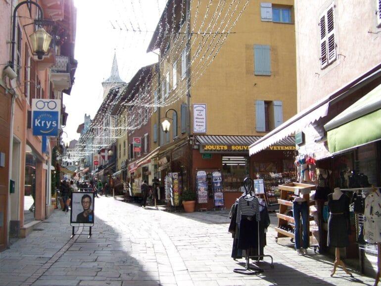 Commerces à Bourg-St-Maurice