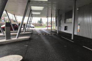 Station de retrait drive
