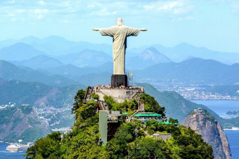 Statue du Christ Rédempteur, Rio de Janeiro, Brésil