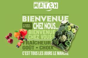 Capture site web Supermarché Match